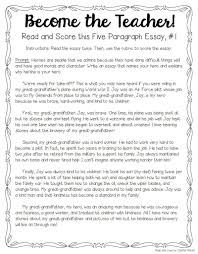 tips for teaching and grading five paragraph essays throughout  tips for teaching and grading five paragraph essays throughout example essay