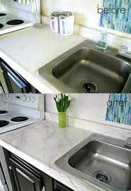 how to cover old laminate countertops dated kitchen before remodeling covering