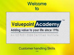 Welcome To Customer Handling Skills Vpa Corporate Office