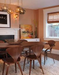 view in gallery bination of cherner armchair and side chairs at the dining table part 49