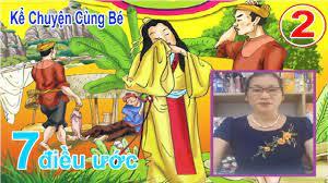 Bảy điều ước - Truyện cổ tích Việt Nam - MC: Mai Hoa   Onni - Chuẩn hàng  nhật - YouTube