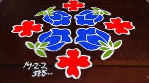 Sankranthi Designs With Dots Latest Sankranthi Muggulu Designs Beginners Flowers Kolam