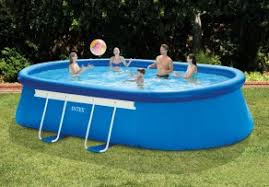 intex oval above ground pools. Brilliant Oval 18FT X 10FT 42IN OVAL FRAME POOL SET In Intex Oval Above Ground Pools