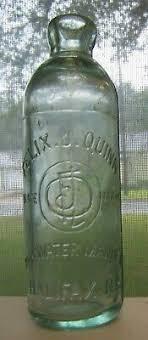 HALIFAX NOVA SCOTIA embossed Hutchinson soda bottle Felix Quinn Hutch NS  0026 - $5.50 | PicClick