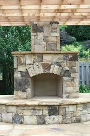 outdoor stone fireplace plans kits for canada suzannawinter com