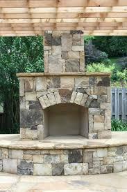 outdoor stone wood burning fireplace kits stacked cost outdoor stone fireplace design