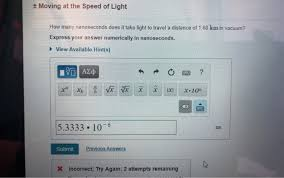 solved moving at the sd of light how