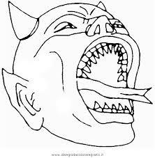 Disegno Halloweenmostri52 Personaggio Cartone Animato Da Colorare