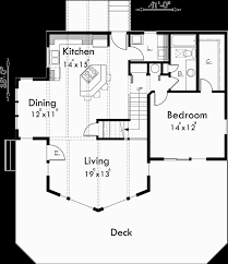 main floor plan for 9932 a frame house plan master on the main