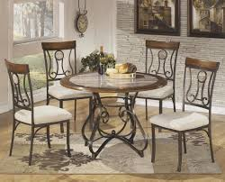 dining room round granite top dining table set round dining table set for 8 black