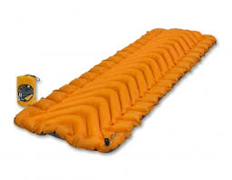 Туристический <b>коврик KLYMIT Insulated Static</b> V Lite, оранжевый ...