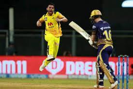 चेन्नई सुपर किंग्स ने जीत की हैट्रिक लगाने के बाद ऐसे मनाया जश्न रसेल ने 54 रन और कमिंस ने 66 रन की पारी खेली। ipl 2021, kkr vs csk: 58sqapnozsz4km
