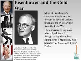 Image result for Secretary of State under President Eisenhower