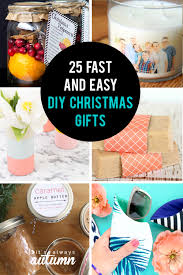25 diy gifts you can make in 15 minutes or less get started early