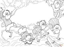 Small Picture Monkeys Coloring Pages Free Monkey Coloring Pages For Kidsjpg