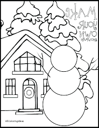 Winter Olympic Games Coloring Pages For Preschoolers The