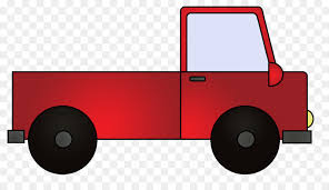 Pickup truck Car Thames Trader Clip art - Red Truck Cliparts png ...