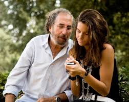 Teen girl with father
