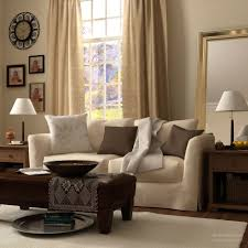 Mirror Living Room Living Room Layered In Differend Shades Of Beige Wall Clocks White