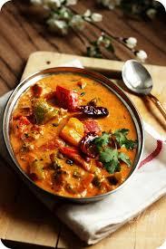 creamy tofu and pepper curry recipe