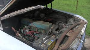 All Chevy chevy 235 engine : Chevy 1960 Parkwood wagon 235 motor - YouTube