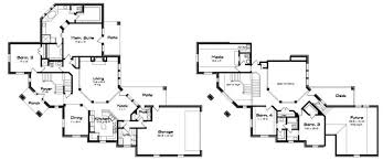 corner lot house plans. Creative Design Corner Lot House Plans Plan Unique Split Stairs Floor T