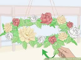 image titled make a hanging flower chandelier step 7