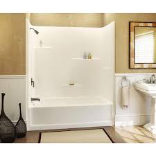 Bathtubs : Gorgeous 1 Piece Tub Shower Unit 70 Right Drain Simple ...