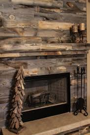 gorgeous stikwood fireplace accent wall