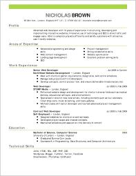 Striking Design Of Typical Resume Format 158824 Resume Format Ideas