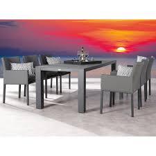 Esstisch Lounge Gruppe Tobago 7 Tlg Anthrazit Kaufen Bei Obi