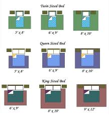 Gorgeous Bed Sizes Queen King Bed Size Chart Queen Bed Size