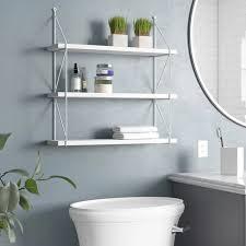 20 interesting floating wall shelves