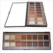 brand new makeup glitter smoky eyeshadow palette cosmetics earth colors eye shadow blush make up set in eye shadow from beauty health on
