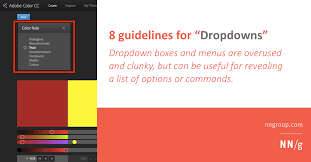 How To Add A Drop Down Box In Word Dropdowns Design Guidelines