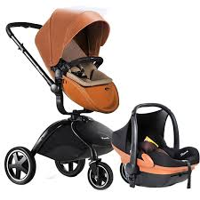 2019 pouch leather baby stroller and car seat 2 in 1 baby carriage send gifts from qwinner 782 51 dhgate com