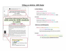 017 How To Reference Research Articles Apa Museumlegs