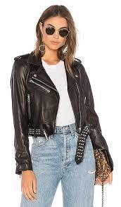 blanknyc black smoke leather jacket in black size xs also in l