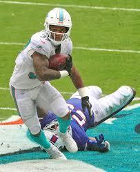 Running back Myles Gaskin surprisingly Dolphins lead runner | Miami Herald