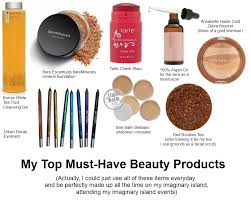 favourite makeup fb toiletries island imaginary must have items my beauty s