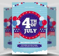 4th Of July Flyer Template 3 Flyerheroes