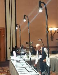 full image for trade show display light fixtures booth art craft lighting fixture table displays easily