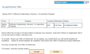 Rejecting An Offer Letter How Do I Accept Or Decline My Offer Of Admission Quest