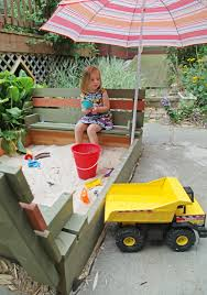 maisie in the sandbox
