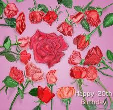 20 Birthday Roses Drawn By Evan