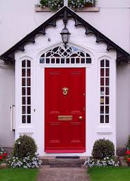 black single front doors. Red Front Door Black Single Doors
