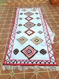 moroccan rag rug vintage rag rug hand woven rug of wool carpet hand made area rugs
