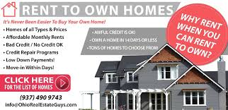 process of to own homes in dayton ohio