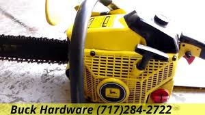 john deere chainsaw j3816. john deere 450v chainsaw ( made by echo) j3816
