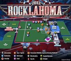 Rocklahoma Seating Chart Usa Gnrworlds Unofficial Blog